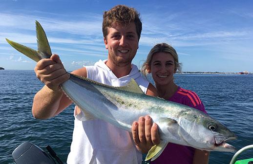 Bigger King Fish in the Bay